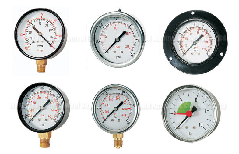 -76cmHG - 1500Psi Pneumatic Air Pressure Gauge,Pressure Manometer 40mm-150mm Dial Size