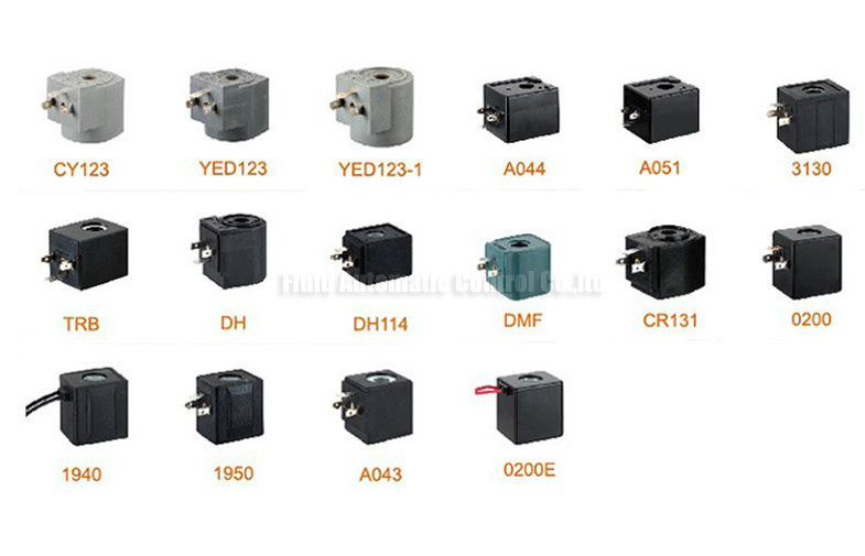 Pneumatic Solenoid Valve Accessories , AC110V Solenoid Valve Coil For Pulse Jet Valve