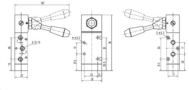 V Lvula De Control Direccional Manual G1 8 V Lvula De La